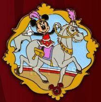 Disney Mickeys Circus Equestrian Minnie Mouse PP Preproduction Le