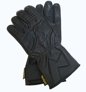 Motorcycle Leather Biker Riding Gloves Heavy Duty Close Out