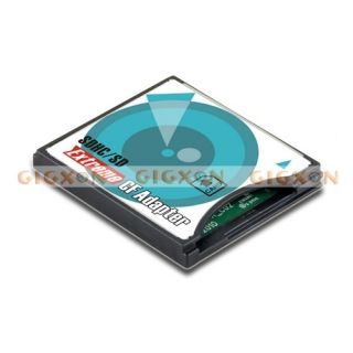 New High Quality SDHC SD Eye Fi to Compact Flash CF Card Adapter