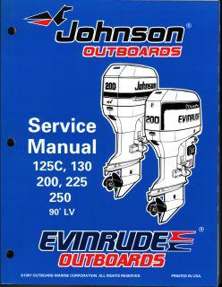 Johnson Evinrude 1998 Service Manual Models Multiple HPs 520212