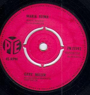 "Gary Miller Maria Elena Amor 1963 7"""