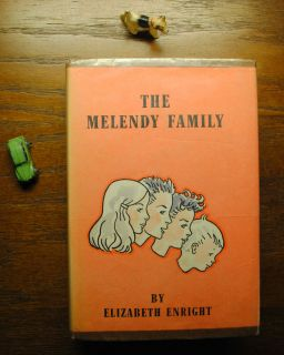 Rare ELIZABETH ENRIGHT Book Compilation Vintage THE MELENDY FAMILY w