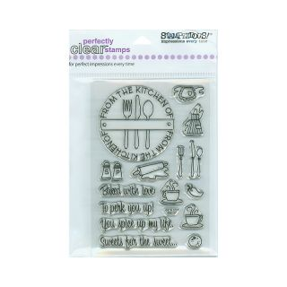 106 2827 scrapbooking stampendous perfectly clear stamp set from the