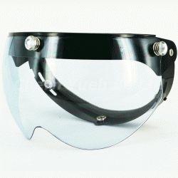 Swing Snap Shield Visor Face Mask UV Blue Lens Diamond Dot Button for