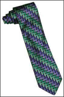 Robert Talbott Best of Class Purple Tie Extra Long New