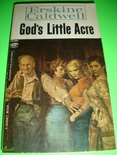 Gods Little Acre by Erskine Caldwell Signet D2289 PB Book