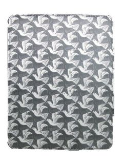 Escher Fabric Wrapped Folding Smooth Case Cover iPad 2 PLANE WITH