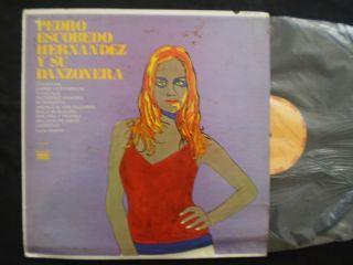 Pedro Escobedo Hernandez Y Su Danzonera Zacatlan LP