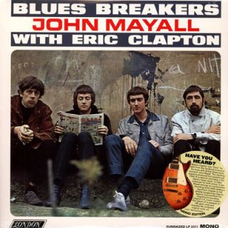 John Mayall Eric Clapton Blues Breakers LP 180g Vinyl RI NEW