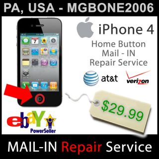 details auction for 1 iphone 4 home button repair service