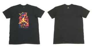 Nike Mens Air Jordan Spizike T Shirt Black