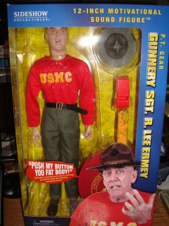 Sgt R Lee Ermey 12 PT Talking Figure