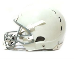 white youth medium regular football helmet kids face mask chin strap