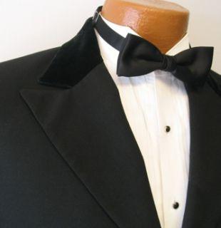 Perry Ellis Black 2 Button Peak Tuxedo Jacket 5B