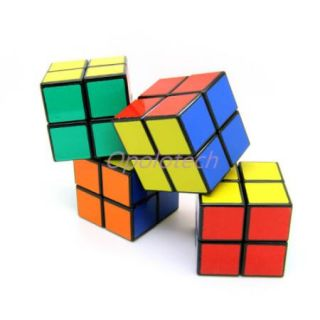 New 2x2x2 Rubiks Magic Cube Rubix Rubiks Cube Puzzle Toy 6 Colors
