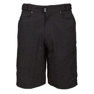Zoic Mens Ether Shorts RPL System Bike Bicycle Cycling Black All Sizes