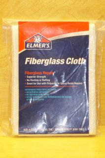 PACK ELMERS FIBERGLASS CLOTH   9 SQ FT   EPOXY RESIN MOLD REPAIR