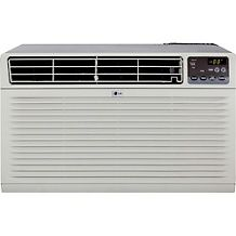 LG 12,000 BTU Window Mounted Air Conditioner with Supplemental Heat