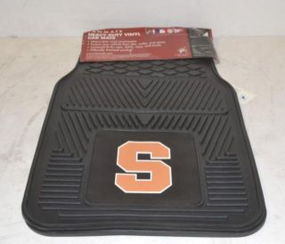 Fan Car Gear Syracuse University FANMATS Heavy Duty Vinyl Car Mats