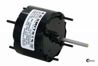 Kitchen Bath Fan Motor 1 100 HP 1550 RPM 115V 3 3 CW Century 692