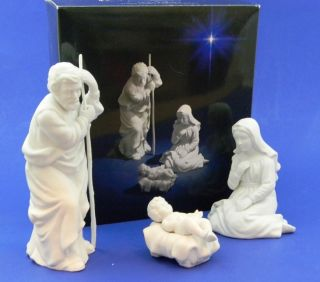 1981 Avon Nativity Collectibles Holy Family
