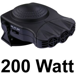 200W 12 Volt Car Fan Heater Instant Auto Portable Defroster Plug in