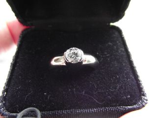 Tiffany Co ETOILE Platinum diamond engagement ring 71 carat sz 7