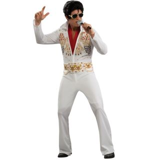 C88 Elvis Presley Licensed 50s Rock Star Costume L XL