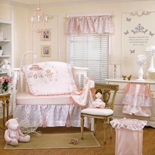 Fairytale Princess 4 Piece Baby Crib Bedding Set by Petit Tresor