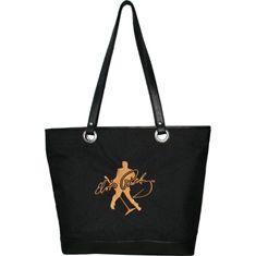 ELVIS Presley Embroidery Travel Tote Bag Elvis Signature Product Black