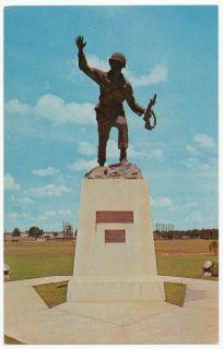 infantryman statue eubanks field fort benning ga