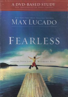 New Christian Group Study DVD Kit Fearless Max Lucado