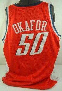 emeka okafor 50 charlotte bobcats jersey 3xl