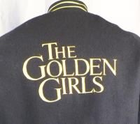 The Golden Girls TV Show Crew Wool Varsity Jacket Large Betty White