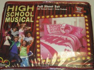 New Disney High School Musical Full Size Sheet Set