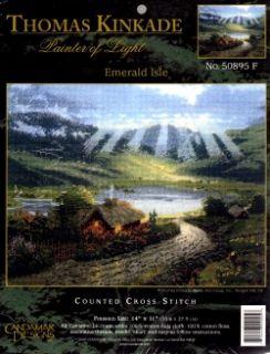 Counted Cross Stitch Kit Emerald Isle Cottage Sale 50895