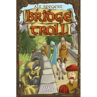 Bridge Troll Game New Z Man Games Family Board Game by ALF Seegert