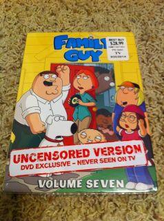 Family Guy   Volume Seven (DVD, 3 Disc Set) BRAND NEW SEALED DVD SET