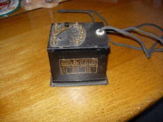 Pre War Lionel Multivolt K Toy Transformer