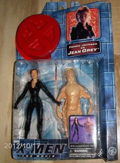 MEN MOVIE ★ FAMKE JANSSEN as JEAN GREY FIGURE & RED BASE