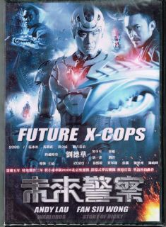 FUTURE X COPS NEW UNCUT DVD ANDY LAU FAN SIU WONG BING BING FAN