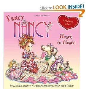 Fancy Nancy Heart to Heart Valentines Day Book New