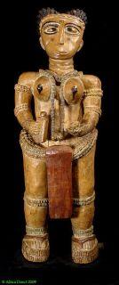 Fante Female Shrine Figure Ghana African Art