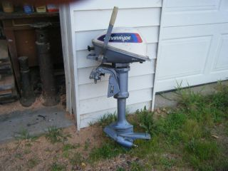 4HP Four Horsepower Evinrude Outboard Boat Motor