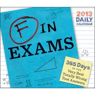 in Exams 2013 Desk Calendar