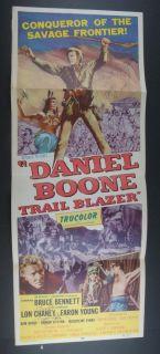 Faron Young Daniel Boone rail Blazer Signed Poser