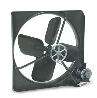 "Exhaust Fan Commercial Belt Driven 24"" 115V"