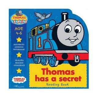 Thomas Has a Secret Reading Book (Thomas the Tank En, Rev W Awdry