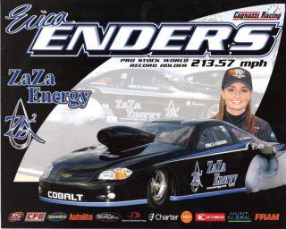 2011 Erica Enders ZA ZA Energy 2nd Ver Handout Postcard