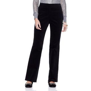 192 714 joan boyce velveteen pants with flared leg note customer pick